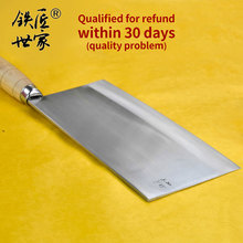 Chef cleaver knife Stainless steel Slicing Chinese handmade forged kitchen knives meat vegetable cuchillos de cocina