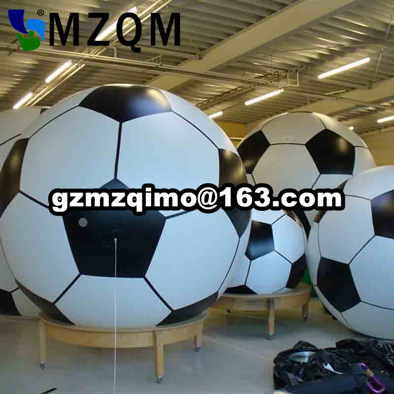 Inflatable soccer ground balloon football basketball sports Rugby Baseball advertising Helium Balloon for Events ao007 inflatable cake balloon event advertising 3 5m pvc fly balloon