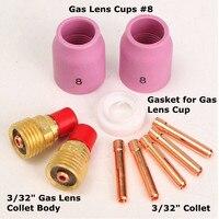 Welding Gas Lens Accessory Kit 3 32 For TIG Welding Torch 9 20 25 TAK40