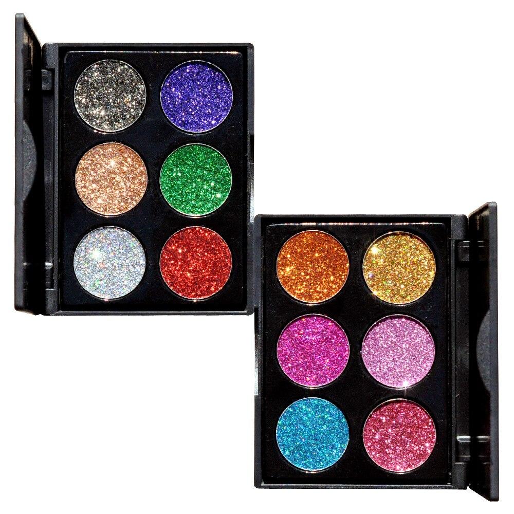 168 Color Glitter Matte Big Eyeshadow Palette Concealer