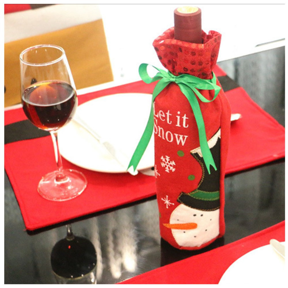 1pc-Christmas-Wine-Bottle-Bag-Dinner-Party-Decoration-Bow-Knot-Snowman-Christmas-Tree-Santa-Claus-Bottle (2)