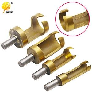 4PCS Titanium Round Shank Plug