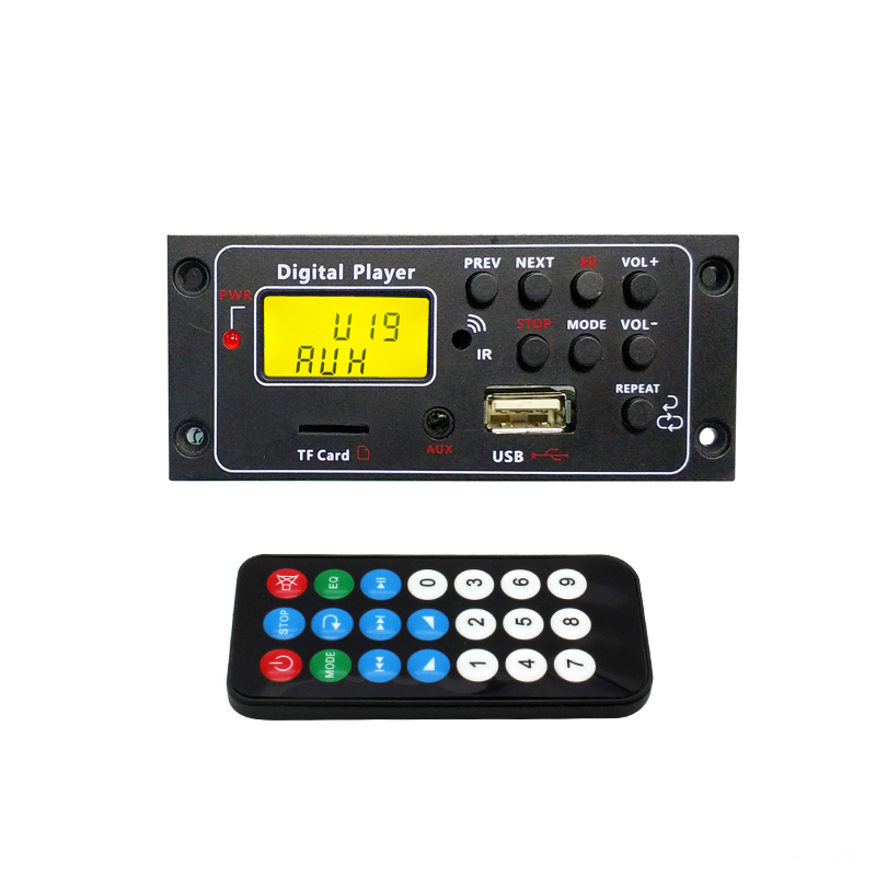 Piccola Stella Marina DC 12 v MP3 WMA Scheda di Decodifica Audio Modulo USB TF di FM Radio Per Altoparlante MP3 Accessori