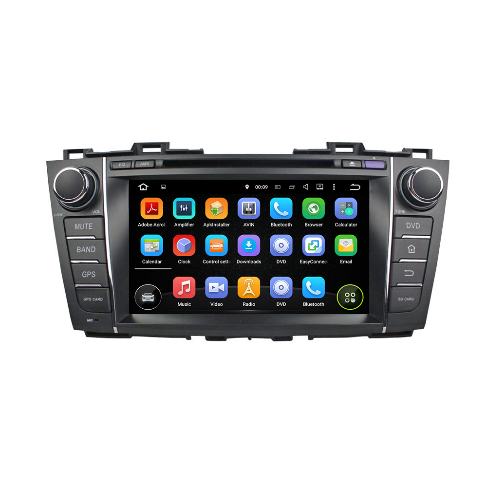 "KLYDE 8"" 2 Din 8 Core Android 8.0 For Mazada 5 Premacy 2009-2012 Car Radio 2+16GB 4+32GB 4+64GB Multimedia Player Audio Stereo"