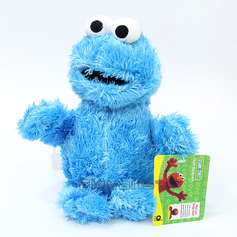 Sesame Street Elmo Cookie Monster Plush Toy Soft Stuffed Doll Christmas Birthday Gift for Kids Children