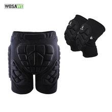 Wosawe спортивная защита для бедер защитное снаряжение наколенники