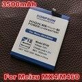 Nuevas adquisiciones 3500 mah batería de la batería para meizu mx4 mx 4 m460 bt40 m461 baterías