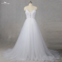 RSW1344 Real Pictures Yiaibridal Lorie Cheap Wedding Dresses Princess Sexy Backless