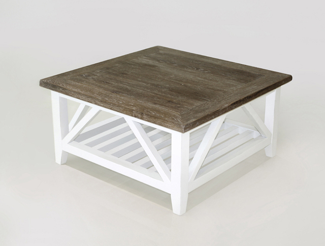 European Fashion Simple White Rustic French Antique To Do The Old Living Room Coffee Table Small