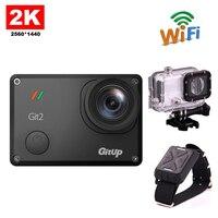 Free shipping!!Original 16M Ultra 2K Gitup Git2 Mini Sports Camera Action Bike Helmet Video Camcorder DV+Wrist Remote Control