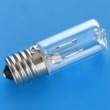 Dc 10-12 В E17 Uvc ультрафиолетовый светильник 3 Вт лампа для дезинфекции озона Стерилизация клещей светильник s бактерицидная лампа