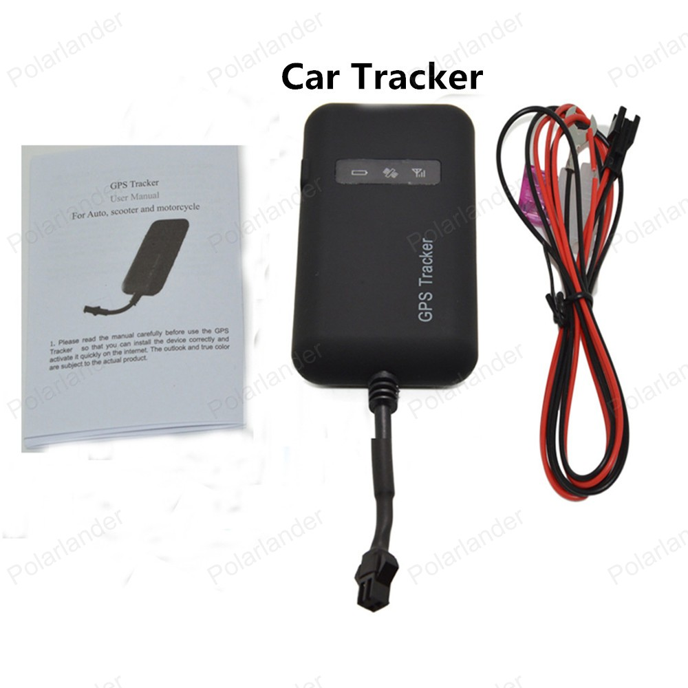 GT02 Car Vehicle Motorcycle GSM GPS Tracker Locator With LCD Remote Control Real Time Anti-theft Device Tracking Device