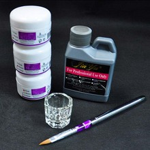 Buy UC-124 Nail Art Tools DIY Kit Nail Kit Acrylic Liquid Powder Pen Dappen Dish,Acrylic nail art kit