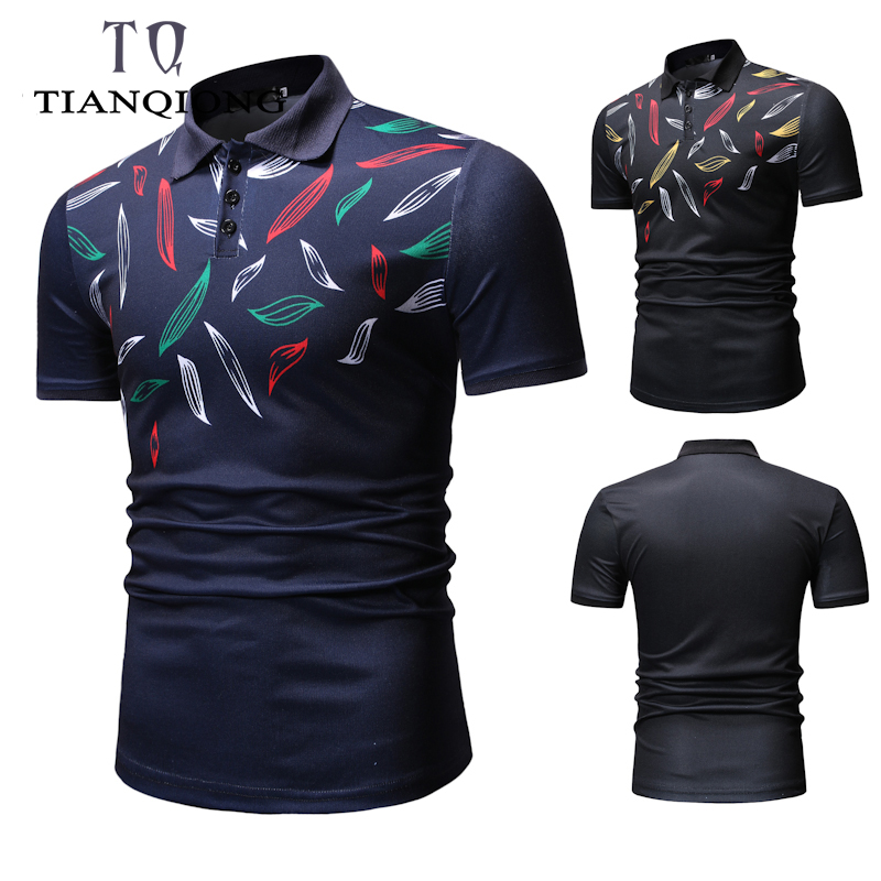 High Quality 2019 Men Summer Fashion Camisa Polo Short Sleeve Business Casual Solid Male Polo Shirt Short Sleeve Cotton