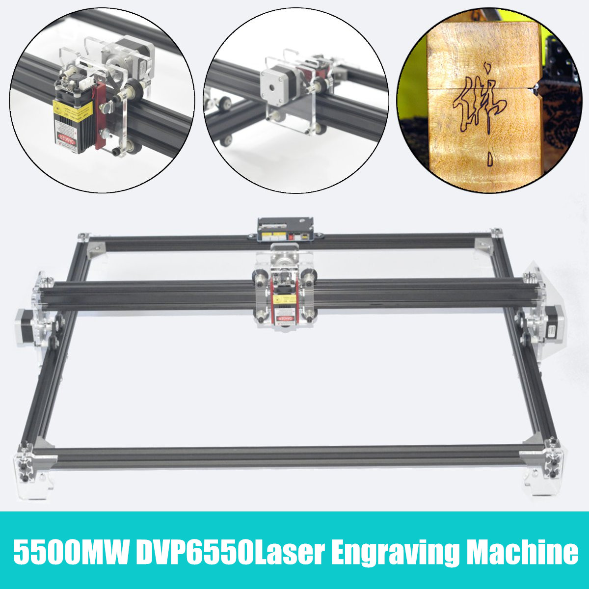 5500mw 2-Axis DVP 6550 Laser Engraving Machine,Wood Router,laser cutter,DIY Laser Engraver Machine,CNC Router,best Advanced toys цены