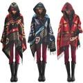 2014 Venda Quente Novo da menina bohemian geometria capa cachecol borla capa capa com capuz mulheres roupas frete grátis