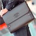 Zefer homem saco de lona na moda, masculino bolsa de ombro malas do carro, bolsas de couro dos homens, alta qualidade laptop tela maleta