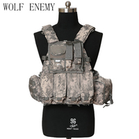 Airsoft Military 1000D US Navy Seals Tactical Molle LBT 6094 Vest Outdoor Combat Hunting Nylon Molle