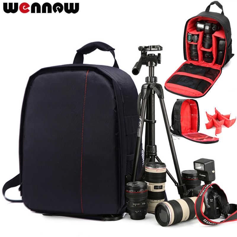 Wennew DSLR Фотография Камера рюкзак чехол для цифровой однообъективной зеркальной камеры Canon EOS Rebel SL2 SL1 T100 T7 T7i T6i T6s T6 T5i T5 T4i T3i T3 T2i T1i XT