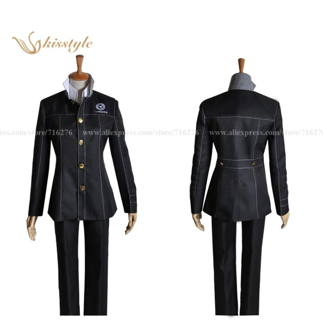Kisstyle Fashion Persona 4 Yasogami High Boys Uniform Cosplay Costume