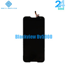 100pcs For Blackview BV5000 LCD lcds Display+Touch Screen 100% Original Screen Digitizer Assembly Replacement +Tools 5.0inch