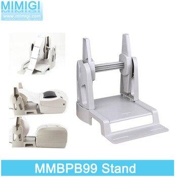 Impresora de código de barras MMBPB99, soporte externo de caballete para etiquetas, soporte extensible, piezas de soporte