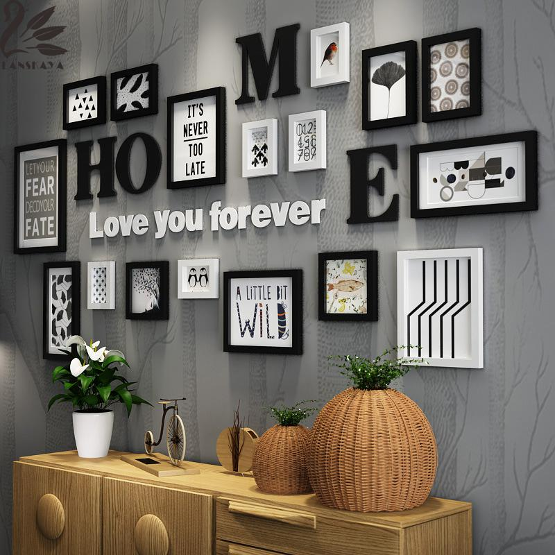 Multi Frame Wall Art picture frame collections promotion-shop for promotional picture