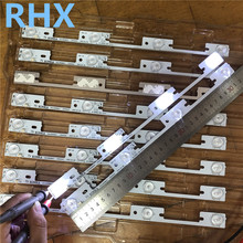 Neue 200 Stück led hintergrundbeleuchtung bar für KONKA KDL39SS662U 35018339 35018340 327mm 4 LEDs( 1LED 6V) 100% NEUE
