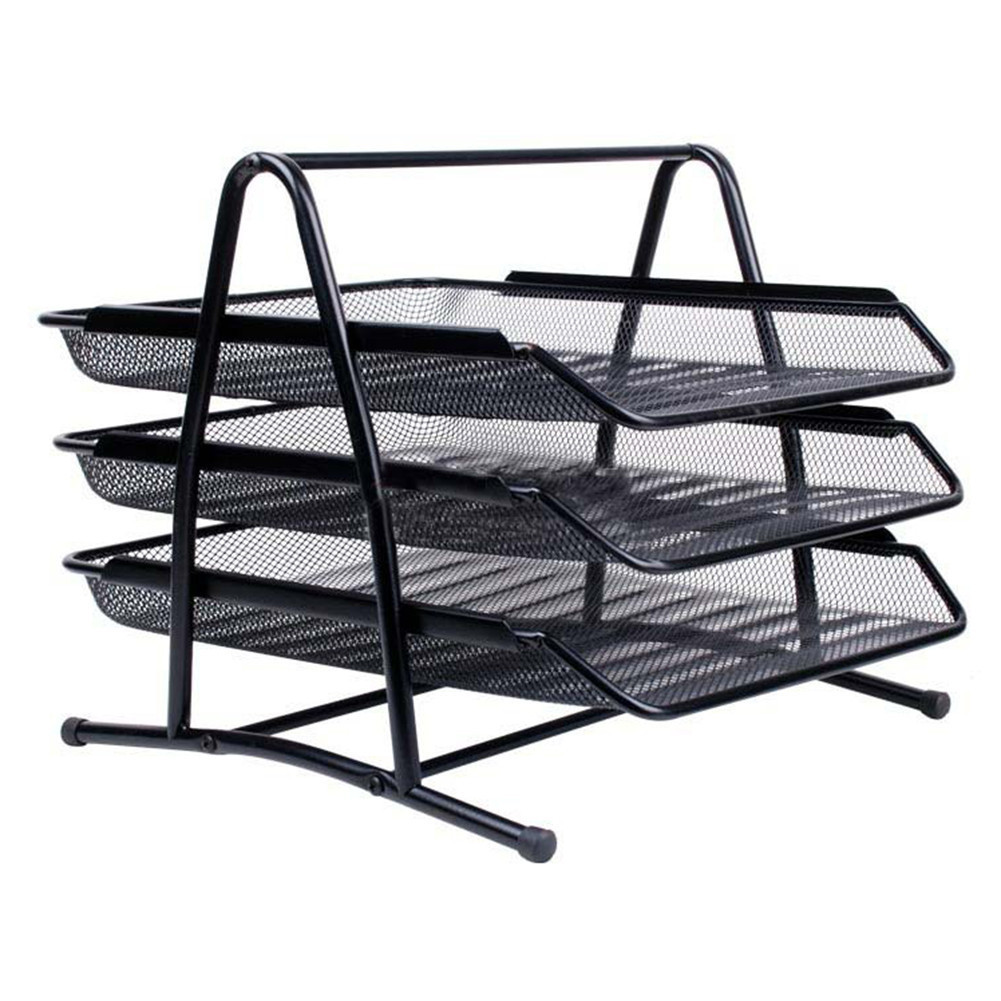 NEW Metal Document Trays A4 Paper Office Mesh Document File Paper ...