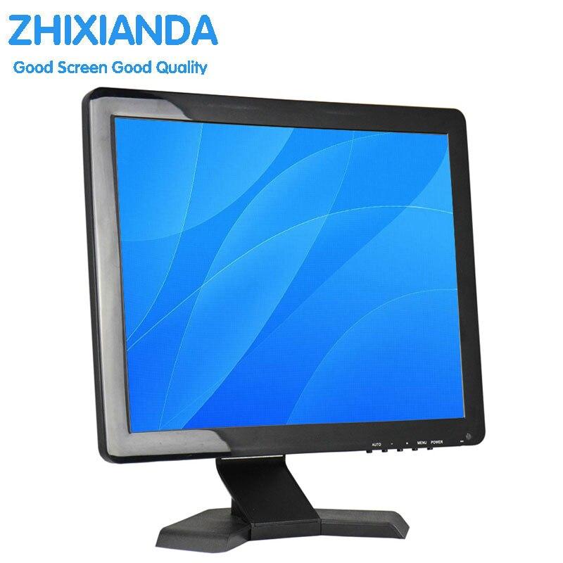 LED ordinateur moniteur LED PC moniteur écran 17 pouces LCD ordinateur moniteur bas prix 17 pouces TFT LCD moniteur DC 12 volts avec HDMI