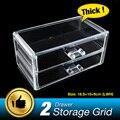 Clear Storage Box Acrylic Makeup Organizer Cosmetic Organizer Make Up Organizador Jewelry Box Organizer