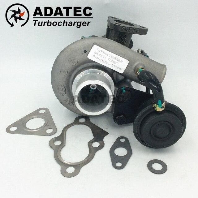 TD025M kompletny turbo 28231 27500 2823127500 49173 02622 49173 02610 turbiny dla Hyundai Matrix 1.5 CRDI D3EA 60 Kw 82 km