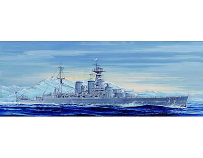 Trumpeter 1/700 05741 HMS Battle Cruiser Hood 1931 Plastic Model Kit