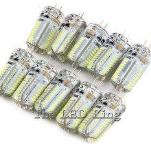 10 шт. Светодиодная лампа 3w 5 G4 светодиодный SMD3014 24 48 64 светодиодный S 240V 220V g 4 Точечный светильник светодиодный светильник вниз светильник светодиодный лампы теплый/холодный белый