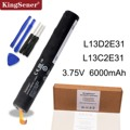 Аккумулятор KingSener L13D2E31 для планшета Lenovo Yoga 8 B6000  B6000-H  60044  60043  L13C2E31  3 75 в  6000 мАч