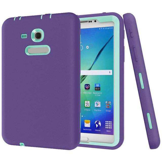 HL 2017 Shockproof Protective Case Cover For Samsung Galaxy Tab E Lite 7.0 SM-T113 Defender ma03 Levert Dropship E21