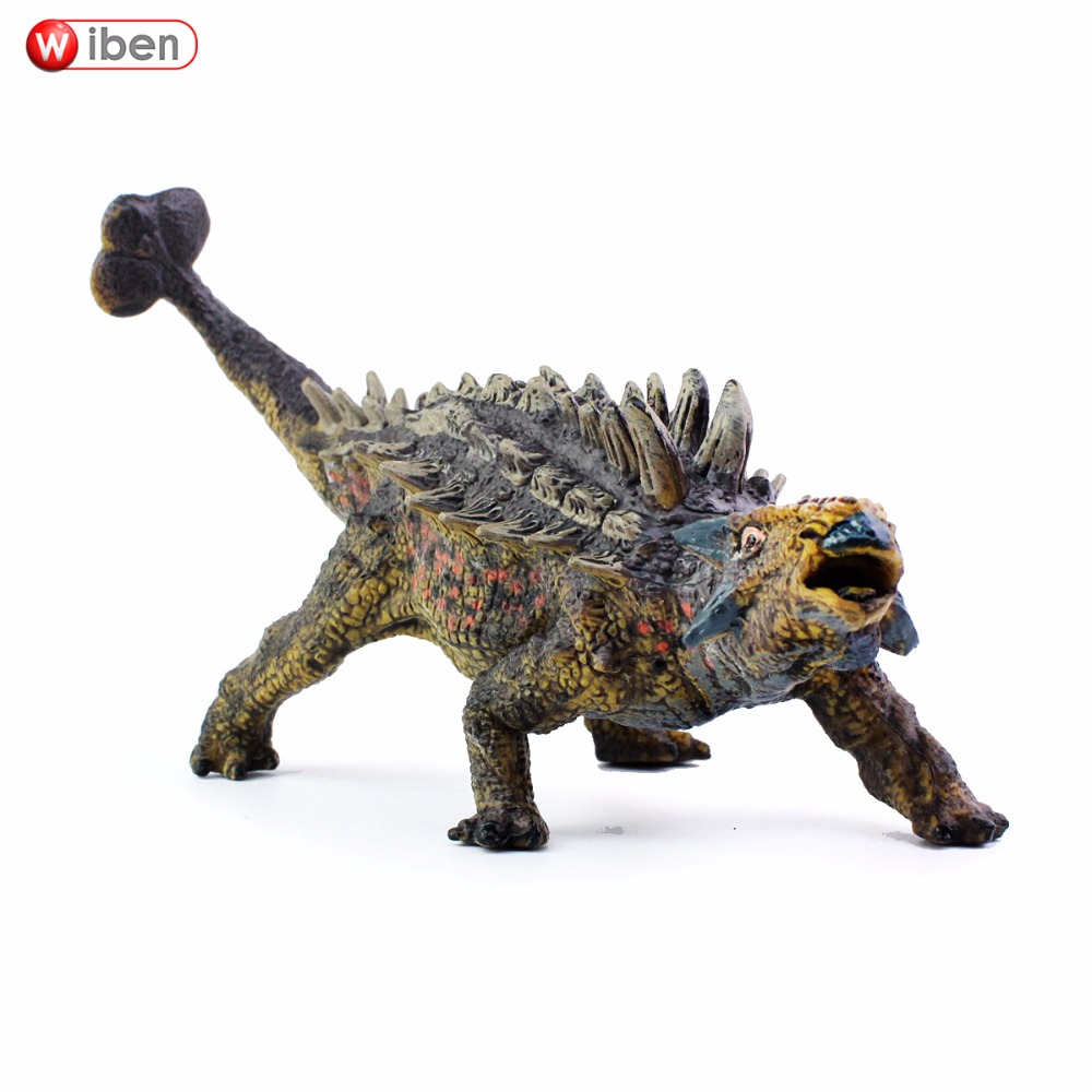 Wiben Jurassic Saichania Dinosaur Toys Action Figure Animal Model Collection Gifts Toys For Children High Quality Brinquedos jurassic velociraptor dinosaur pvc action figure model decoration toy movie jurassic hot dinosaur display collection juguetes