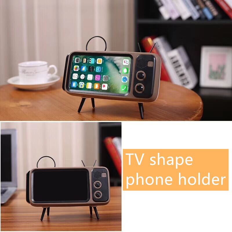 Tragbare klassische bluetooth lautsprecher retro mini tv audio player - Tragbares Audio und Video - Foto 2
