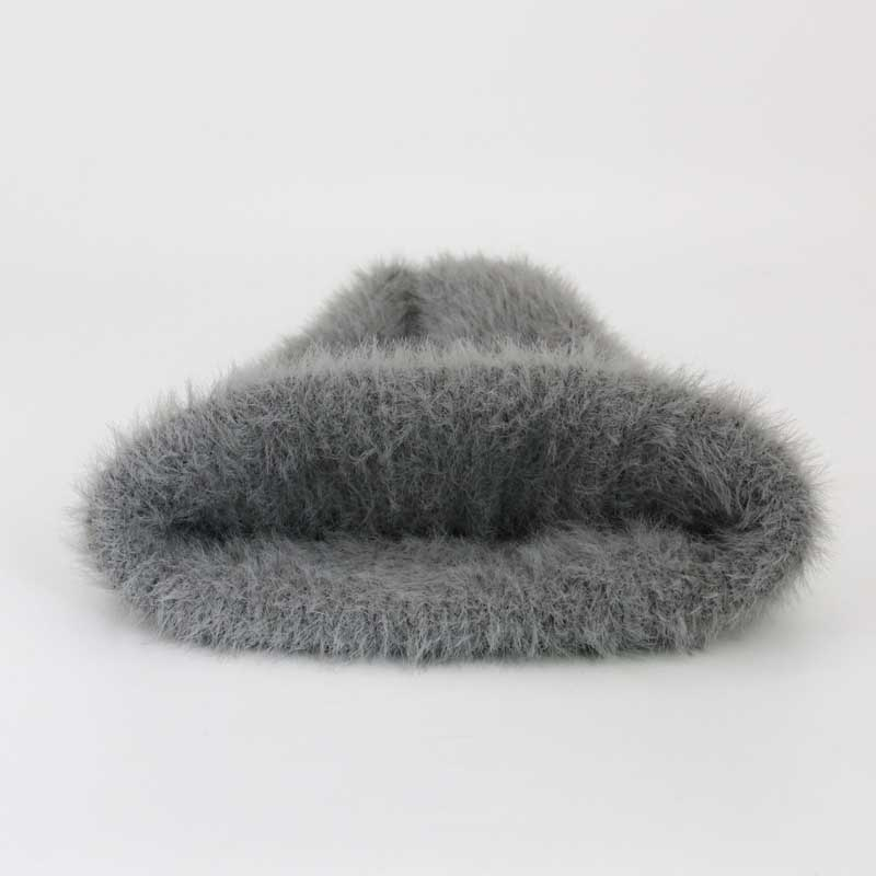 2474cd89f7c ... New Women Winter Hats Fox Pom Poms Rabbit Fur Hat And Scarf For Women  Girl Cotton ...