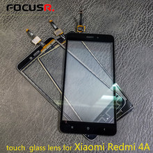 New Outer Top Screen Lens Front Glass For Redmi 4A LCD Screen Replacement Touch Panel touch screen repair parts(China)