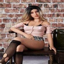 155cm # Cecelia TPE עם מתכת שלד מין בובות נדל און vajina אהבת בובות זכר בובות מין לנשים נרתיק מציאותית