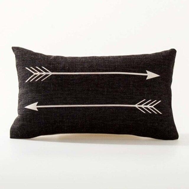 Nordic Geometric Decorative Pillowcase Size: 45CM WT0042 Color: 22