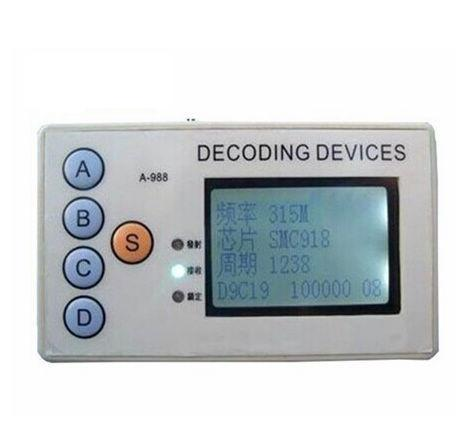 Цена за OBD2tool 315 МГЦ/330 МГЦ/430 МГЦ/433 МГЦ автомобиль удаленный сканер штрих-кода декодер 4 в 1 беспроводной пульт дистанционного управления детектор Свободный корабль