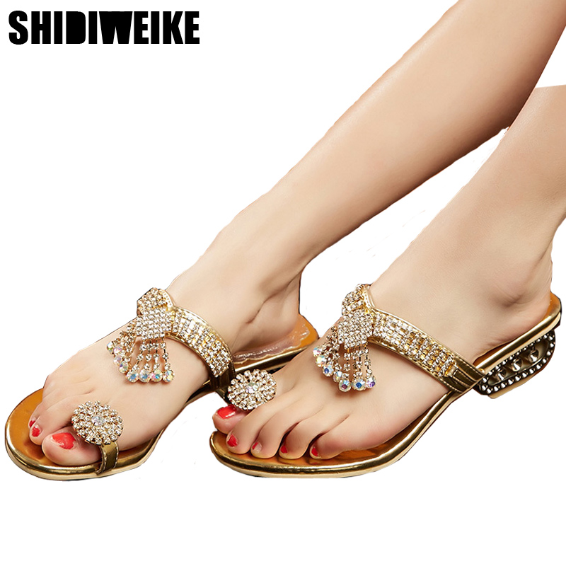 Women Sandals Flip Flops 2018 New Summer Fashion -1282