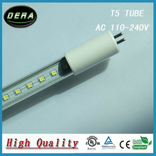 4Piece 8W 2FT lampad led T5 Led G5 Fluorescent Replacement Tube Light Bulb AC 110-277V 560mm 530mm Cold Warm White