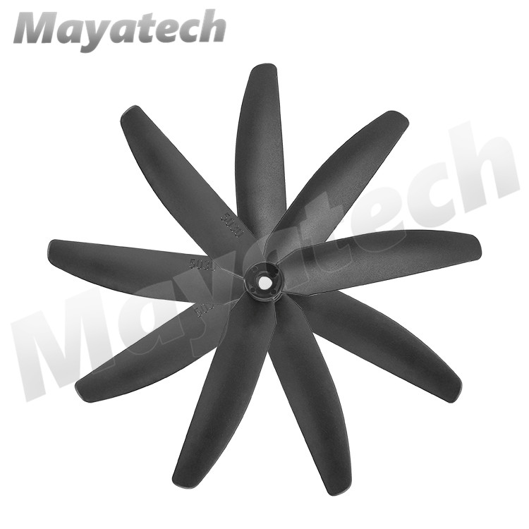 Gemfan 5030 5030R <font><b>7035</b></font> 7035R 3-Leaf nylon <font><b>propeller</b></font> CW CCW For RC Airplane Four-Axis UAV image