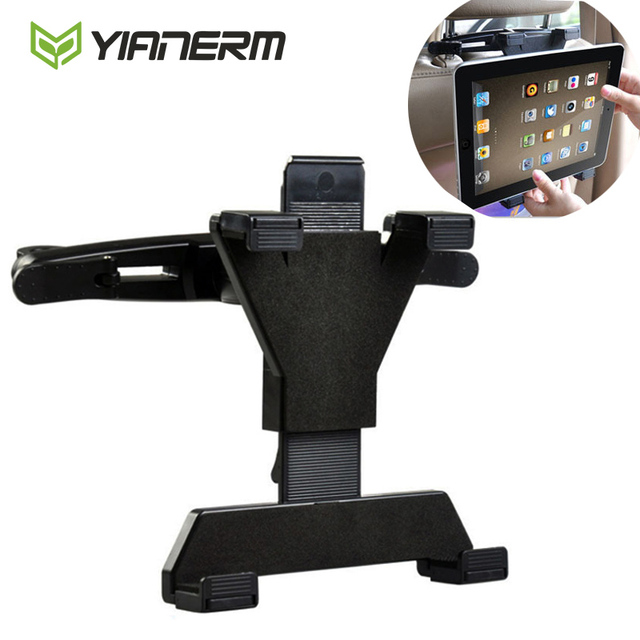 Yianerm Car Headrest Tablet Holder 360 Rotating Seat Mount Bracket For IPadSamsund Galaxy