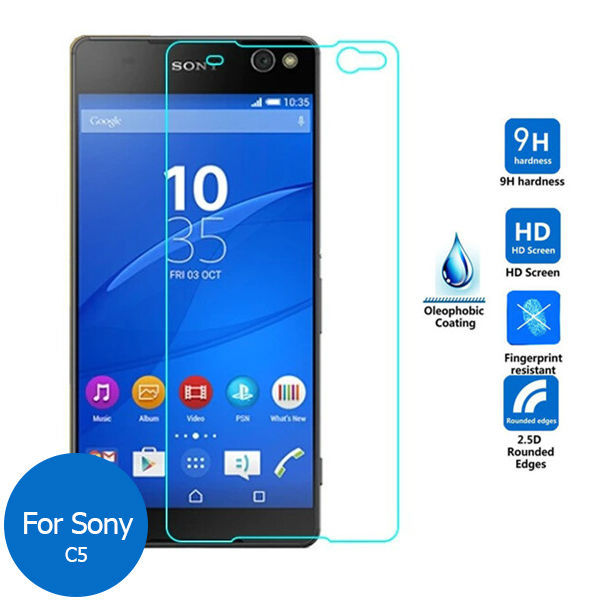 For Sony Xperia C5 Ultra Dual Tempered Glass Screen Protector 2.5 9h Safety Protective Film on C 5 E5533 E 5533