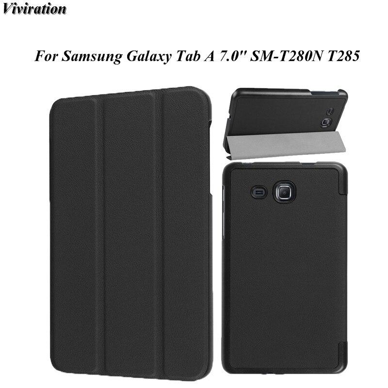 Mode Unisex Feste Schwarz Hohe Qualität 7,0 Zoll Tablet PC fall Magentic Standplatz-abdeckung Für Samsung Galaxy Tab Eine 7,0