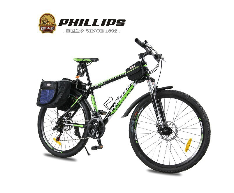 Factory Sell 2014 Philip 26 inch mountain bike double disc brake aluminum alloy bicycle 21/24 speed WG2603 - ShenZhen Google Outdoors store